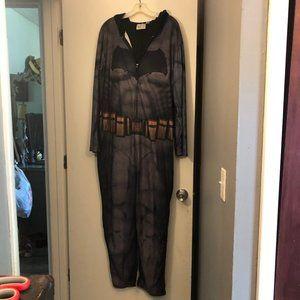 Men's Comics Batman One Piece Hooded Lounge sz XLT